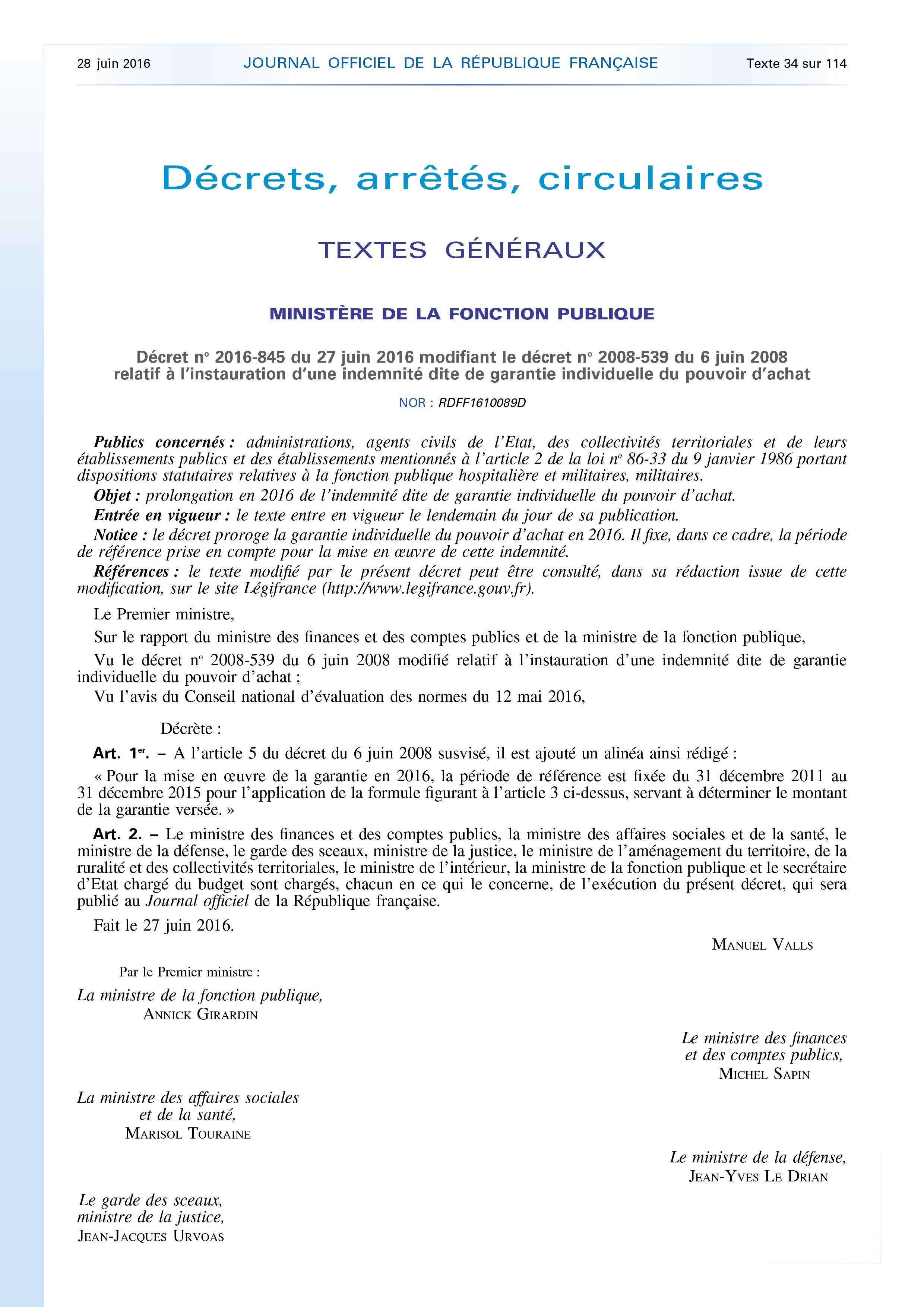 GIPA_décret-2016-1