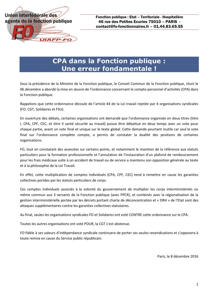2016-12-08-communique-uiafp-cpa-fonction-publique